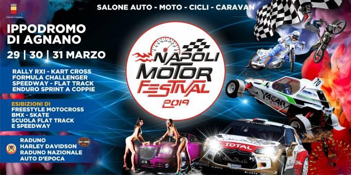 Manifesto Napoli Motor Festival 2019