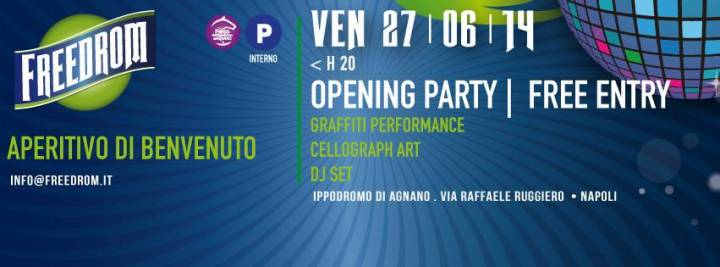 cartellone delle sere d'estate all'ippodromo: dj, aperitivo, cinema, show radio marte